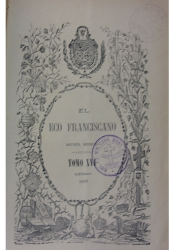 El eco franciscano, 1899 r.