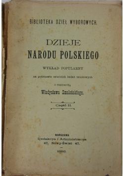 Dzieje Narodu Polskiego Część II , 1898r.