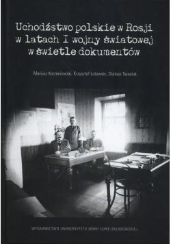 Uchodźstwo polskie w Rosji w latach I wojny światowej w świetle dokumentów