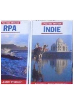 Podróże marzeń. Indie / RPA