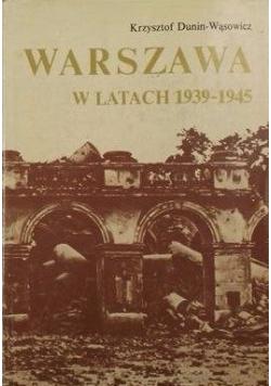 Warszawa w latach 1939-1945, Tom V