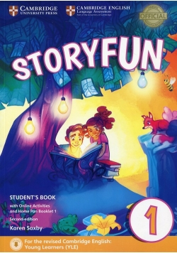 Storyfun for Starters 1 Student's Book with Online Activities and Home Fun Booklet 1