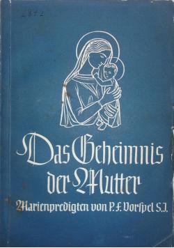 Das geheimnis der mutter, 1936 r.