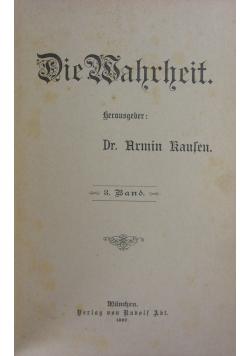 Die  Wahrheit, 3. Band, 1897r.