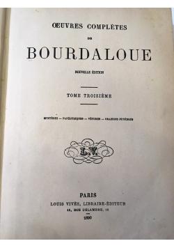 Oeuvres completes de Boudaloue, 1890 r.