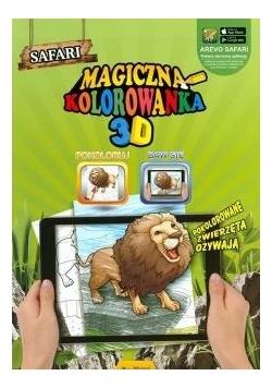 Magiczna kolorowanka 3D - Safari