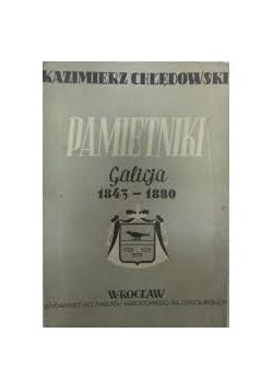 Pamiętniki. Galicja 1843-1880, tom I