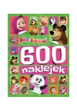 Masza i Niedźwiedź. 600 naklejek