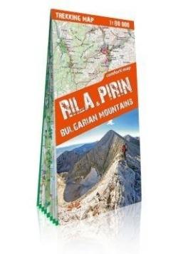 Mapa trekkingowa - Riła i Piryn. Góry Bułgarii