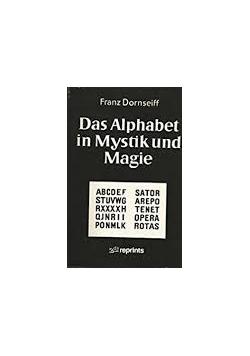 Das Alphabet in Mystik und Magie, reprint