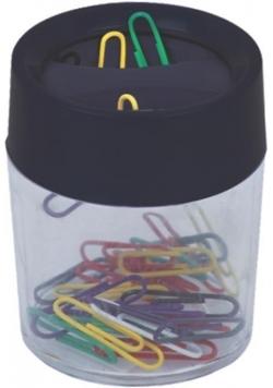 Spinacze w magnetycznym pudełku OPTIMA