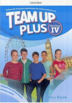 Team Up Plus 4 CB podręcznik wieloletni +CD OXFORD