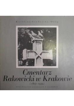 Cmentarz Rakowicki w Krakowie (1803 - 1939)