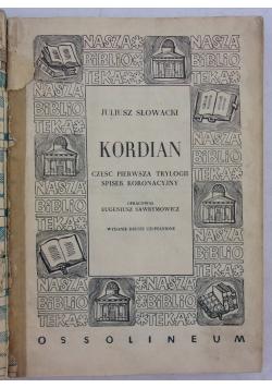 Kordiana, część trylogji