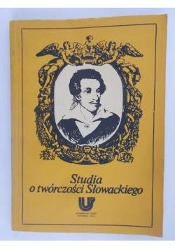 Studia o twórczości Słowackiego