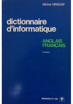 Dictionaire d'informatique 3