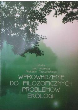 Wprowadzenie do filozoficznych problemów ekologii