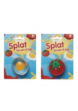 Rozbryzgujące się jajko/pomidor