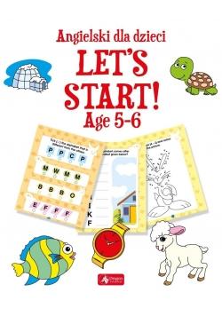 Angielski dla dzieci. Let's Start! Age 56