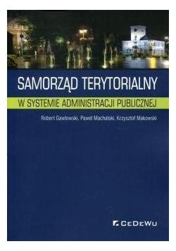 Samorząd terytorialny w systemie administracji...
