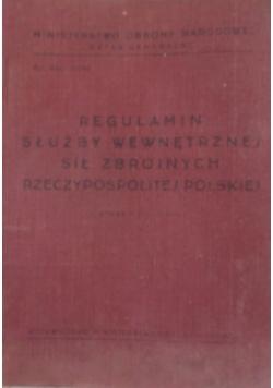 Regulamin służby wewnętrznej sił zbrojnych rzeczpospolitej polskiej
