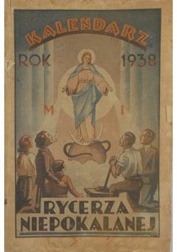 Kalendarz Rycerza Niepokalanej 1938r.
