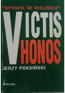 """Victis Honos. """"Spisek w wojsku"""""""