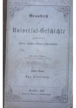 Gesichichte des Alterthums, 1862 r.