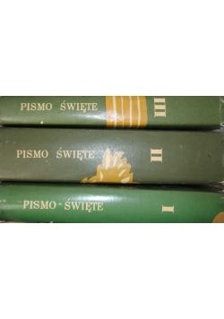 Pismo Święte - zestaw 3 książek
