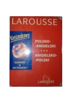 Larousse, kieszonkowy słownik polsko-angielski