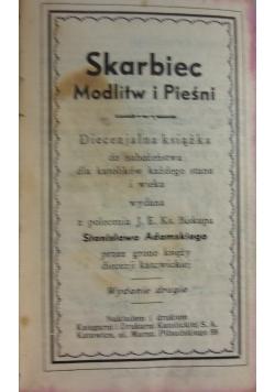 Skarbiec modlitw i pieśni, ok 1934 r.