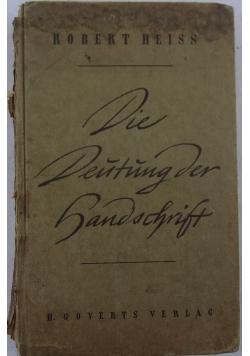 Die Deutung der Handschrift, 1943 r.