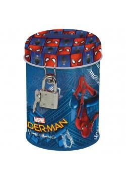 Skarbonka z kłódką Spider-Man Homecoming 10 DERFOR