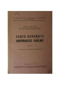 Zarys geografii gospodarczej ogólnej, 1947 r.