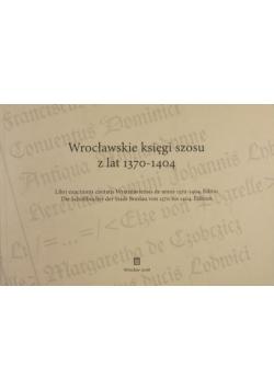 Wrocławskie księgi szosu z lat 1370-1404