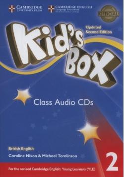 Kids Box 2 Class Audio 4 CDs