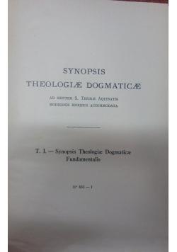 Synopsis theologiae dogmaticae, 1937r.