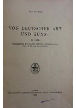 Von Deutscher art und Kunst ,1939r.