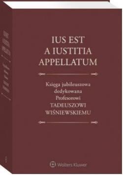 Księga jubileuszowa dedyk. prof T Wiśniewskiemu