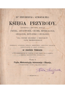 Księga przyrody , 1867 r.