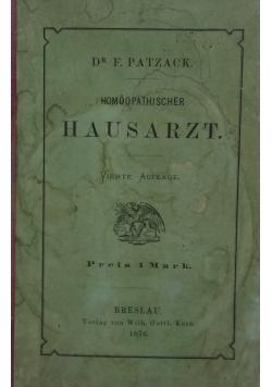Hausarzt, 1876r.