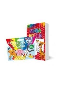 Pakiet: Prosiaczek Riki i przyjaciele / Mega kolor