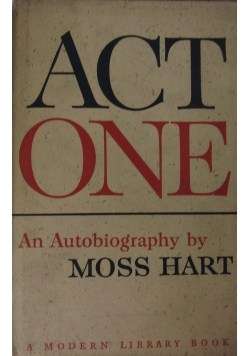 Act one  - An autobiography