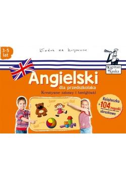 Kapitan Nauka. Angielski dla przedsz. (3-5 lat)