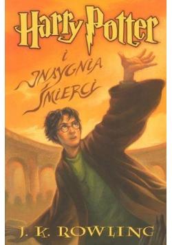 Harry Potter 7 Insygnia Śmierci - J.K. Rowling br.