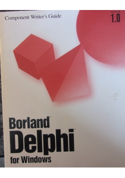 Borland Delphi for Windows ver.1.0