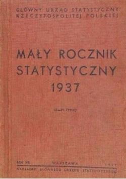 Mały rocznik statystyczny, 1937 r.