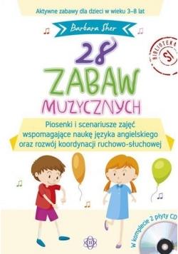 28 zabaw muzycznych CD(komplet)
