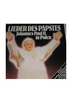 Lieder des papstes, płyta winylowa