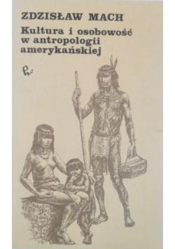 Kultura i osobowość w antropologii amerykańskiej